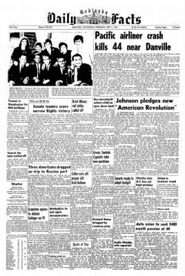 Redlands Daily Facts from Redlands, California on May 7, 1964 · Page 1