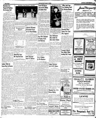Naugatuck Daily News from Naugatuck, Connecticut on September 11, 1944 · Page 8
