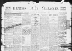 Hastings Daily Nebraskan