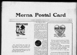 Merna Postal Card