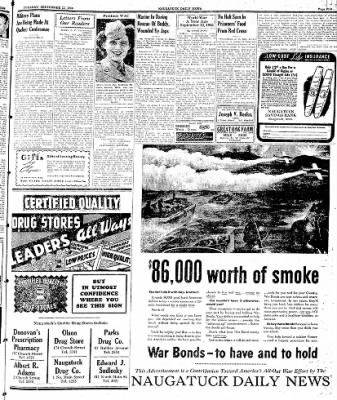 Naugatuck Daily News from Naugatuck, Connecticut on September 12, 1944 · Page 5