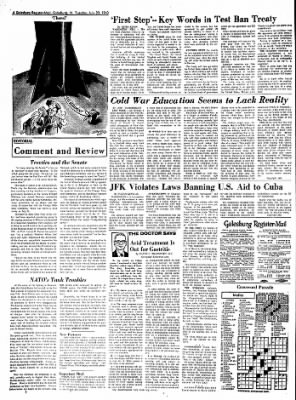 Galesburg Register-Mail from Galesburg, Illinois on July 30, 1963 · Page 4