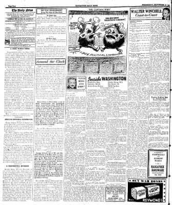 Naugatuck Daily News from Naugatuck, Connecticut on September 13, 1944 · Page 4