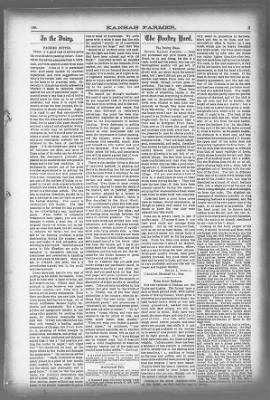 Kansas Farmer from Topeka, Kansas on August 28, 1889 · Page 3
