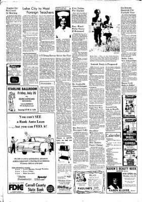 Carrol Daily Times Herald from Carroll, Iowa on July 25, 1974 · Page 4