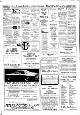 Carrol Daily Times Herald from Carroll, Iowa on July 25, 1974 · Page 8