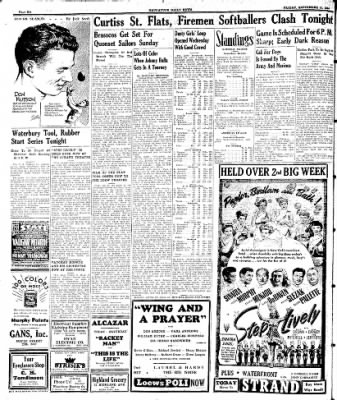 Naugatuck Daily News from Naugatuck, Connecticut on September 15, 1944 · Page 6