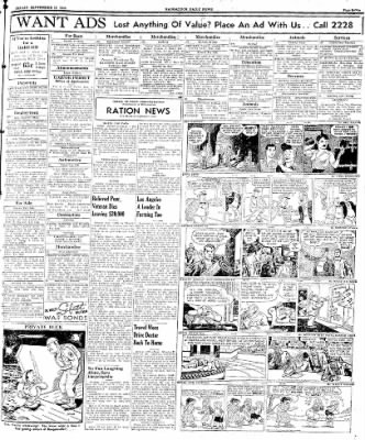 Naugatuck Daily News from Naugatuck, Connecticut on September 15, 1944 · Page 7