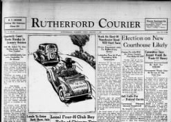 The Rutherford Courier