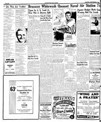 Naugatuck Daily News from Naugatuck, Connecticut on September 18, 1944 · Page 6