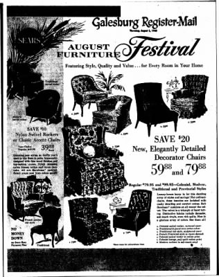 Galesburg Register-Mail from Galesburg, Illinois on August 1, 1963 · Page 25