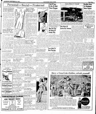 Naugatuck Daily News from Naugatuck, Connecticut on September 20, 1944 · Page 3