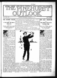 Sample The Pinehurst Outlook front page