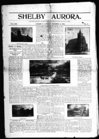 Sample Shelby Aurora front page