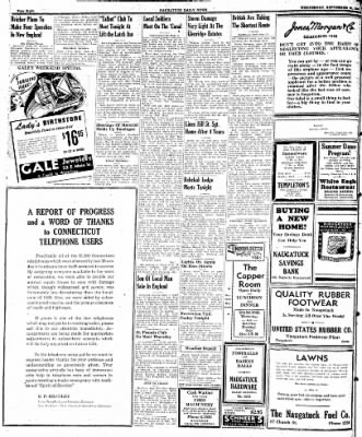 Naugatuck Daily News from Naugatuck, Connecticut on September 20, 1944 · Page 8