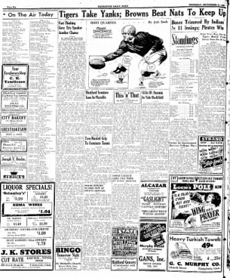 Naugatuck Daily News from Naugatuck, Connecticut on September 21, 1944 · Page 6