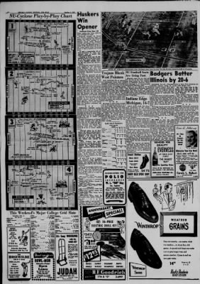 The Lincoln Star from Lincoln, Nebraska on October 5, 1952 · Page 16