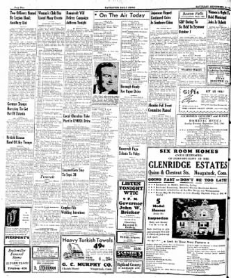Naugatuck Daily News from Naugatuck, Connecticut on September 23, 1944 · Page 2