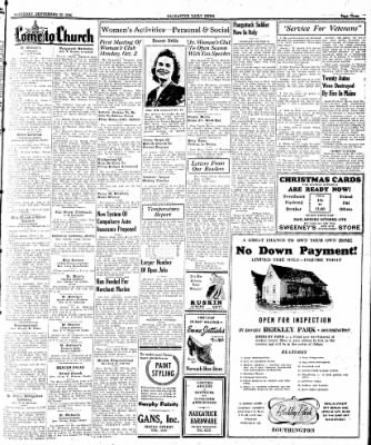 Naugatuck Daily News from Naugatuck, Connecticut on September 23, 1944 · Page 3