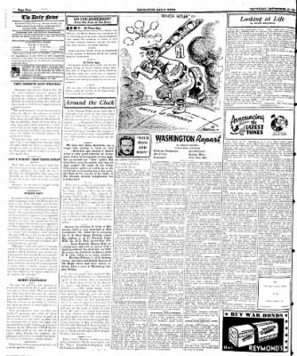Naugatuck Daily News from Naugatuck, Connecticut on September 23, 1944 · Page 4
