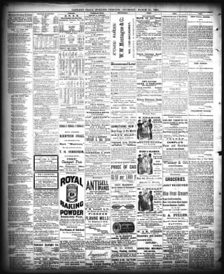Oakland Tribune from Oakland, California on March 24, 1881 · Page 4