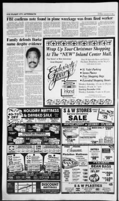 The San Bernardino County Sun from San Bernardino, California on December 12, 1987 · Page 10