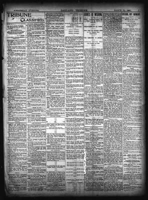 Oakland Tribune from Oakland, California on March 31, 1897 · Page 3