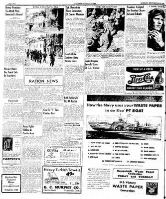 Naugatuck Daily News from Naugatuck, Connecticut on September 25, 1944 · Page 2
