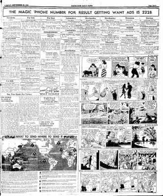 Naugatuck Daily News from Naugatuck, Connecticut on September 26, 1944 · Page 7
