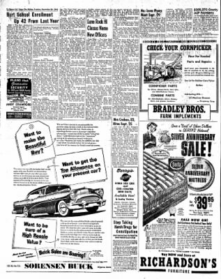 The Algona Upper Des Moines from Algona, Iowa on September 28, 1954 · Page 10