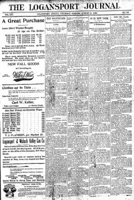 Logansport Pharos-Tribune from Logansport, Indiana on August 13, 1896 · Page 1