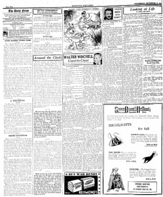Naugatuck Daily News from Naugatuck, Connecticut on September 27, 1944 · Page 4