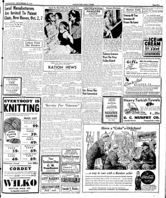 Naugatuck Daily News from Naugatuck, Connecticut on September 27, 1944 · Page 5