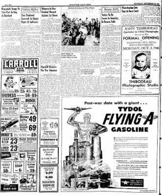 Naugatuck Daily News from Naugatuck, Connecticut on September 28, 1944 · Page 2
