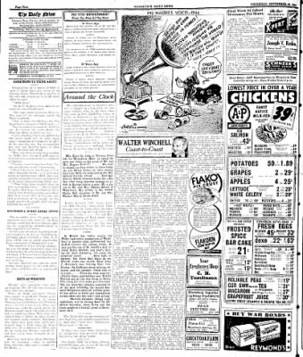 Naugatuck Daily News from Naugatuck, Connecticut on September 28, 1944 · Page 4