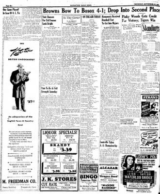 Naugatuck Daily News from Naugatuck, Connecticut on September 28, 1944 · Page 6