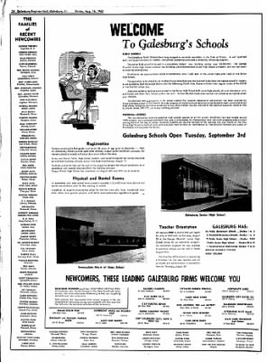 Galesburg Register-Mail from Galesburg, Illinois on August 16, 1963 · Page 24