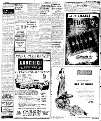 Naugatuck Daily News from Naugatuck, Connecticut on September 29, 1944 · Page 2
