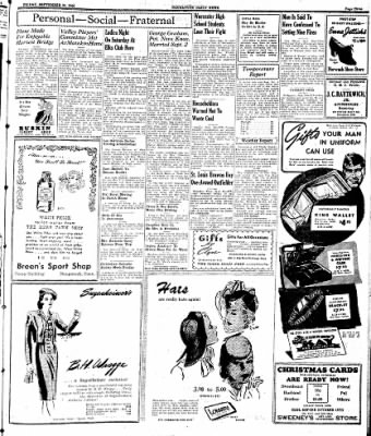 Naugatuck Daily News from Naugatuck, Connecticut on September 29, 1944 · Page 3