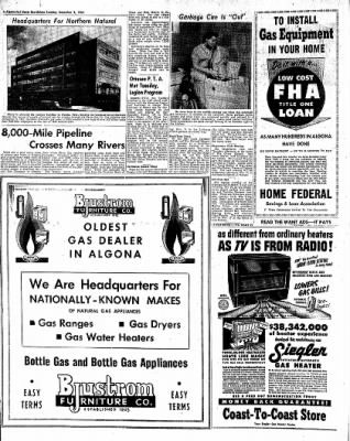 The Algona Upper Des Moines from Algona, Iowa on November 9, 1954 · Page 18