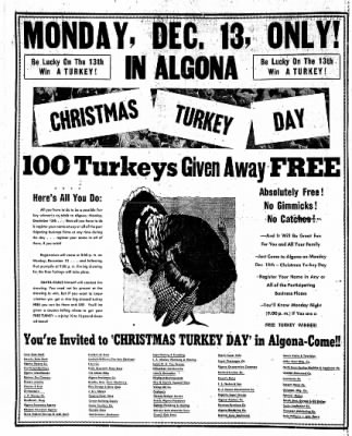 The Algona Upper Des Moines from Algona, Iowa on December 7, 1954 · Page 26