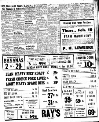 The Algona Upper Des Moines from Algona, Iowa on February 3, 1955 · Page 5