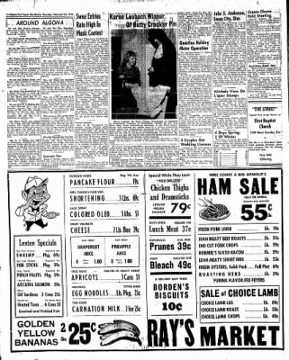 The Algona Upper Des Moines from Algona, Iowa on February 24, 1955 · Page 8