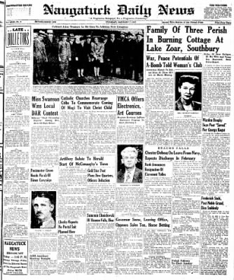 Naugatuck Daily News from Naugatuck, Connecticut on January 7, 1947 · Page 1