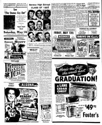 The Algona Upper Des Moines from Algona, Iowa on May 12, 1955 · Page 8