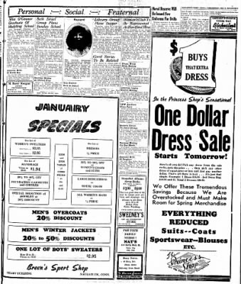 Naugatuck Daily News from Naugatuck, Connecticut on January 8, 1947 · Page 3