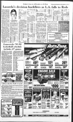 The Index-Journal from Greenwood, South Carolina on September 11, 1991 · Page 11