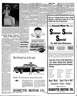 The Algona Upper Des Moines from Algona, Iowa on June 23, 1955 · Page 21