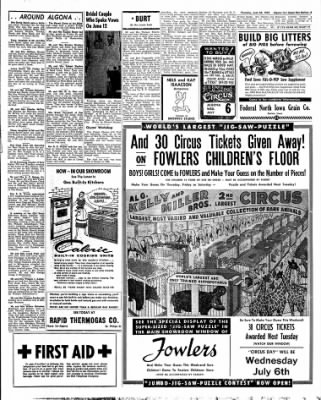 The Algona Upper Des Moines from Algona, Iowa on June 30, 1955 · Page 11