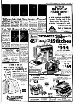 Galesburg Register-Mail from Galesburg, Illinois on June 6, 1973 · Page 7